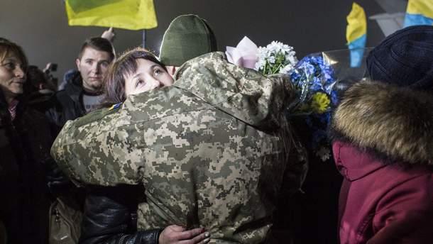 Список заявленных украинцев, которые в рамках обмена пленными должны прибыть в Украину