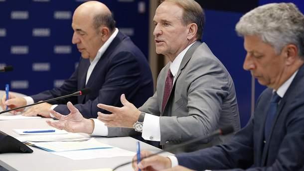 Виктор Медведчук и Вадим Рабинович