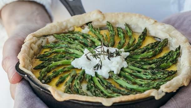Як приготувати спаржу: на грилі, сковороді і в духовці – рецепти
