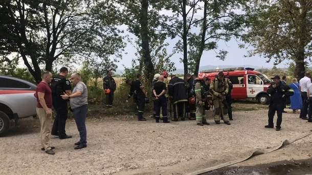 В полиции открыли уголовное производство по факту пожара на химзаводе