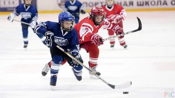 Детская драка в хоккее