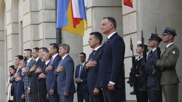 """Зеленський та Дуда обговорили """"Півнінчий потік-2"""" та співпрацю між країнами"""