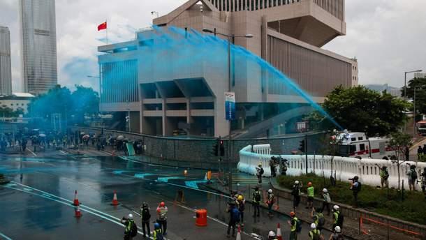 Заворушення у Гонконгу