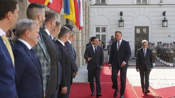 Дуда и Зеленский общались в Варшаве
