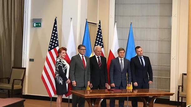 """Данилюк заявив про підписання """"газового"""" меморандуму зі США та Польщею"""