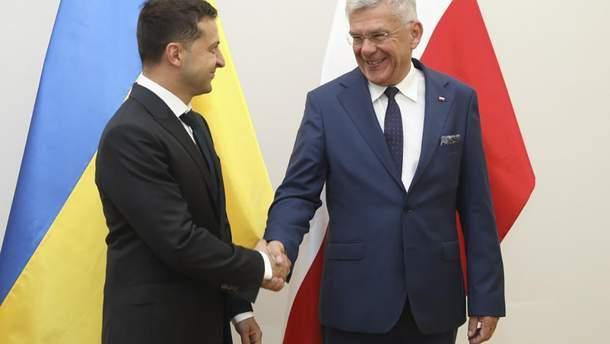 Зеленський та Карчевський, зустріч 31 серпня 2019 року