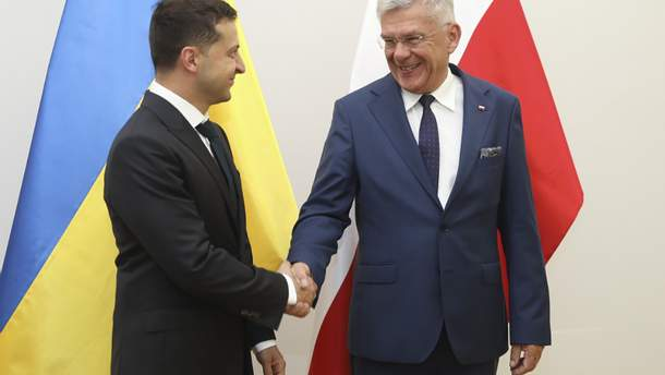 Зеленский и Карчевский, встреча 31 августа 2019 года
