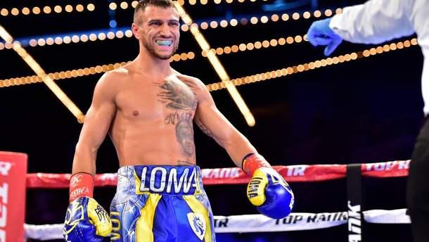 Ломаченко прокоментував бій проти Кембелла