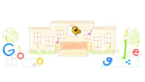 День знаний 1 сентября 2019: поздравление дудл от Google с 1 сентября 2019