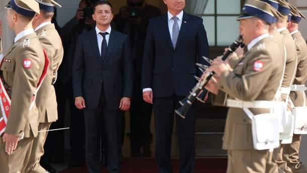 """Зеленский считает визит в Польшу """"не оттепелью, а прорывом"""""""