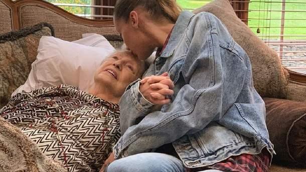 Белла Хадід і бабуся