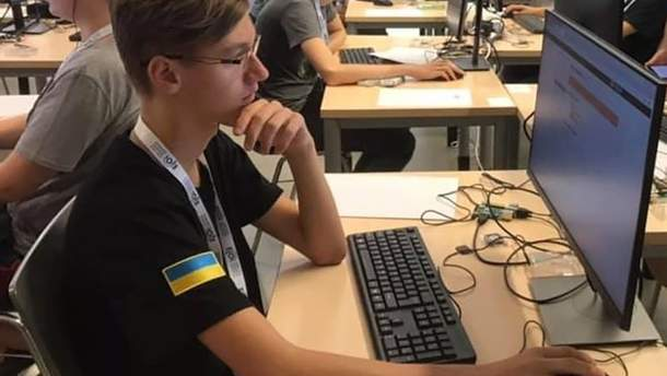 Артем Фомюк – десятиклассник и победитель Евроолимпиады