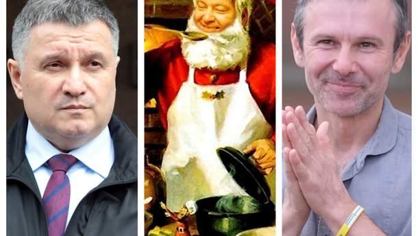 Петр Порошенко готовит новогодний пунш