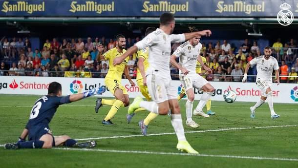 """""""Реал"""" вирвав нічию проти """"Вільяреала"""" завдяки дублю Бейла, який отримав червону карту: відео"""