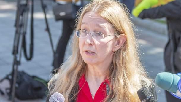 Супрун дала советы новому министру Зоряне Скалецкой