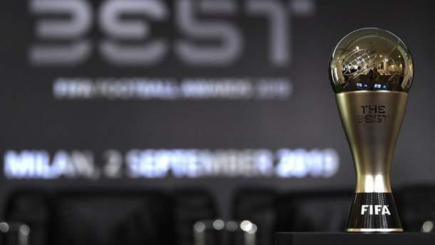 ФИФА назвала претендентов на лучшего игрока, вратаря, тренера, болельщика и гол года