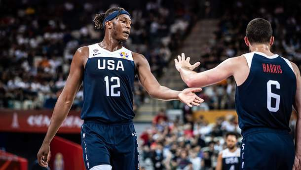 Сборная США среди претендентов на победу на Чемпионате мира по баскетболу