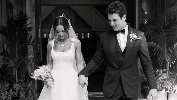 Свадьба Майлза Теллера и Келли Сперри на Гавайях