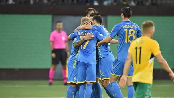Литва – Украина: обзор и видео голов матча 7 сентября 2019