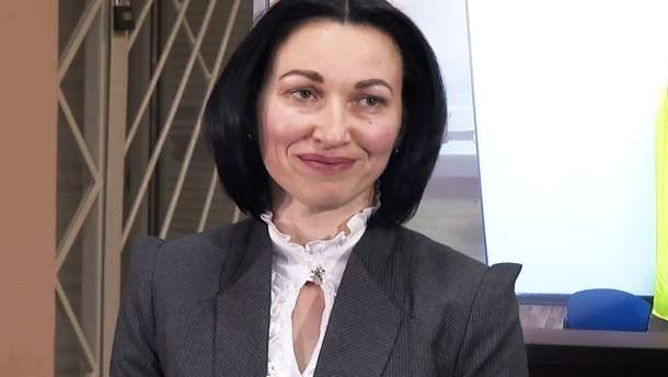 Председатель Высшего антикоррупционного суда Елена Танасевич