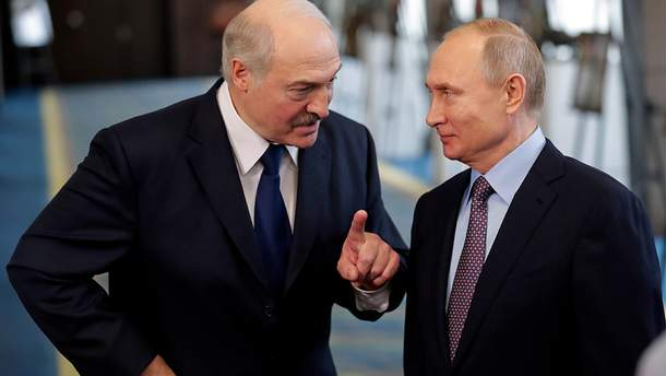 """Лукашенко попросив Росію """"не нахиляти"""" Білорусь"""
