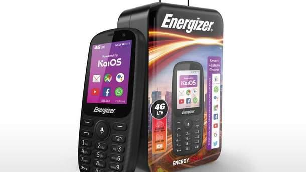 Energizer представила кнопочный телефон с 4G