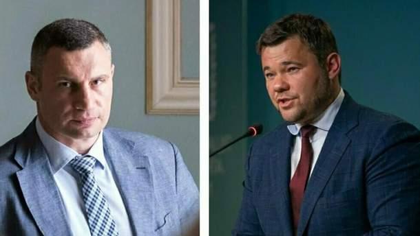 Богдан и Кличко выяснили отношения в прямом эфире в интеллектуальном поединке
