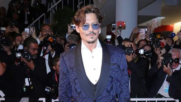 Джонні Депп на Венеційському кінофестивалі