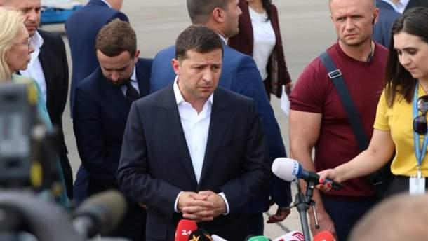 """Зеленский в аэропорту """"Борисполь"""""""