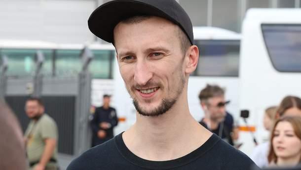 Освобожденный из плена Александр Кольченко