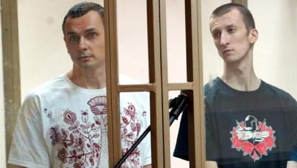 В ближайшее время Сенцову и Кольченко организуют постоянное жилье на подконтрольной Украине территории