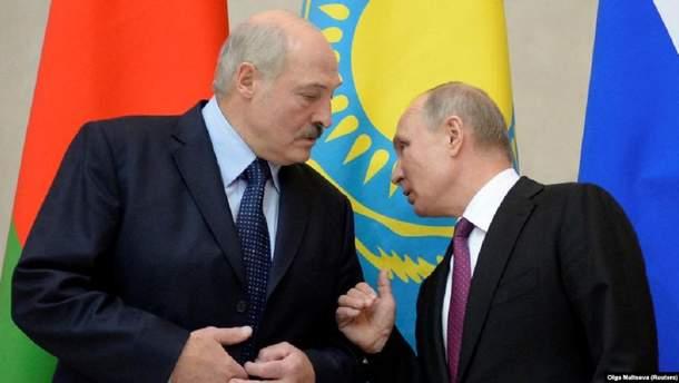 Лукашенко погрожує Путіну зменшити обсяги купівлі російської нафти