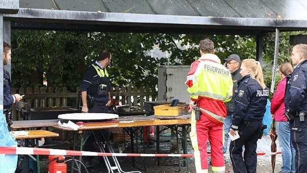 Внаслідок вибуху на фестивалі у Німеччині постраждали 14 осіб