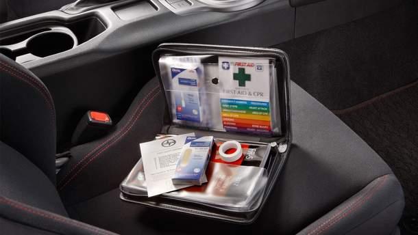 Необхідні складові аптечки в авто