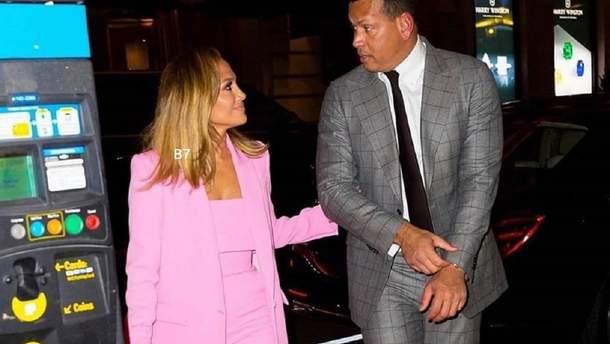 Дженнифер Лопес и Алекс Родригес