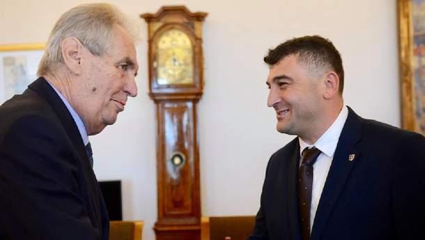 Мілош Земан та Михайло Тяско