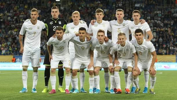 Збірна України у матчі проти Нігерії