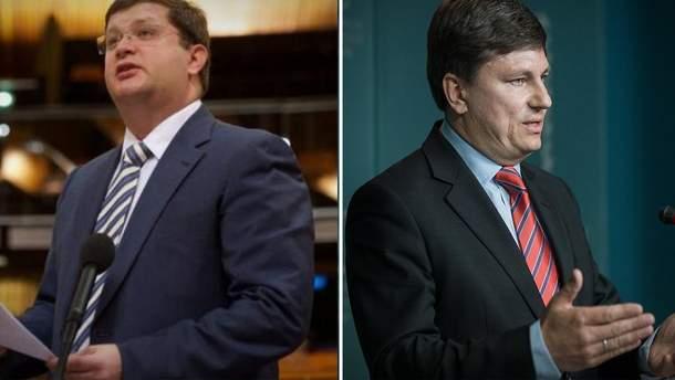 Зеленский лишил Арьева и Герасимова дипломатических рангов