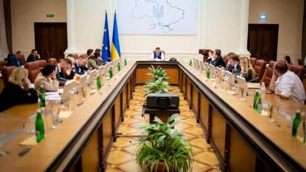 Засідання Кабінету міністрів уряду