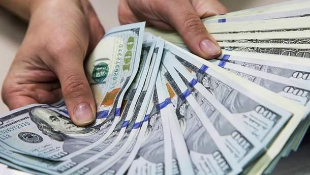 Зарплата в Украине в долларовом эквиваленте