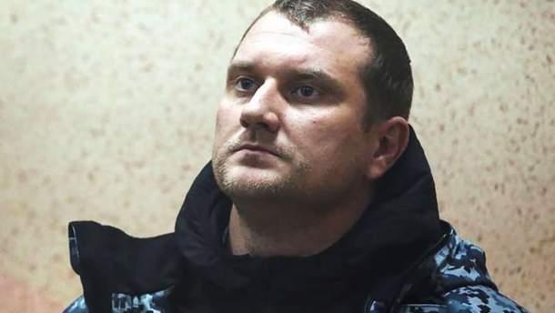 Звільнений з полону моряк Денис Гриценко