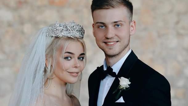 Аліна Гросу з чоловіком Олександром Комковим
