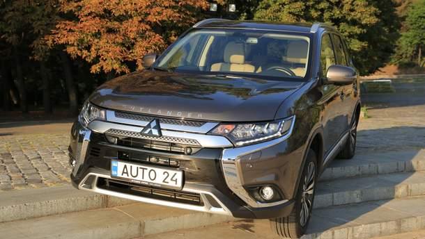 Тест-драйв Mitsubishi Outlander: теперь 7-местный