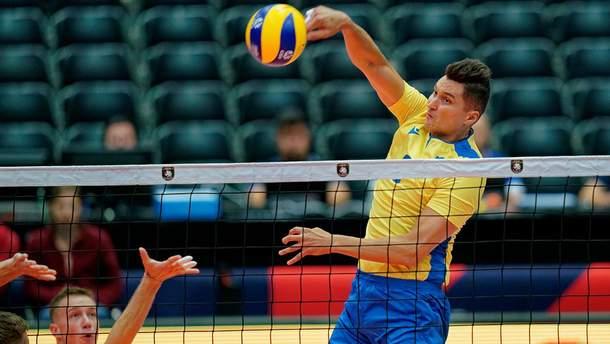 Сборная Украины в напряженном матче проиграла Нидерландам на Евро-2019 по волейболу