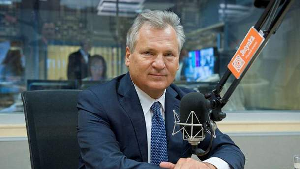 Александер Квасневський – президент Польщі в 1995 – 2005 роках