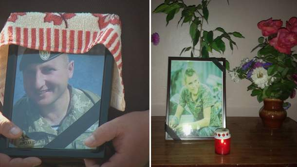 Прощание с бойцами, которые трагически погибли во время обстрела снайперов