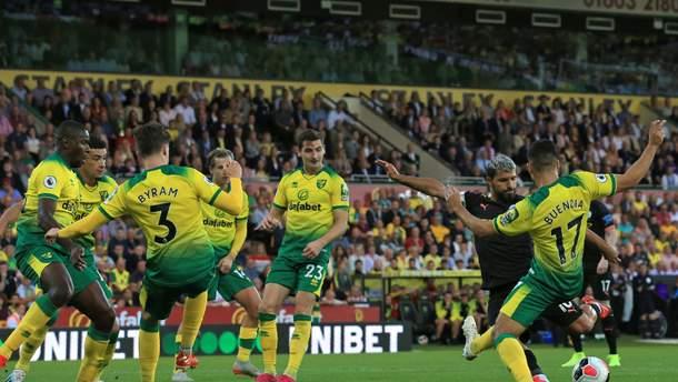 Норвіч – Манчестер Сіті результат та відео голів