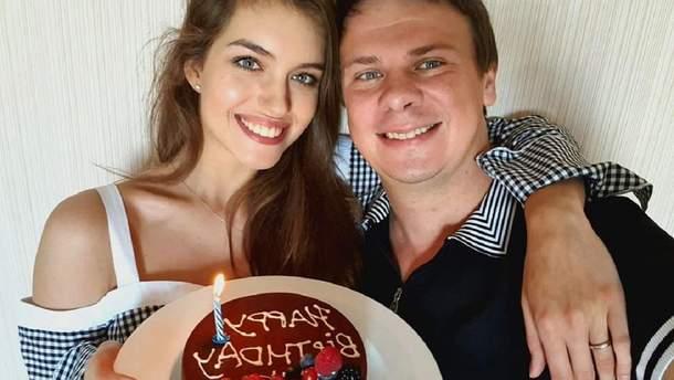 Олександра Кучеренко і Дмитро Комаров