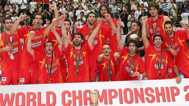 Сборная Испании выиграла чемпионат мира по баскетболу