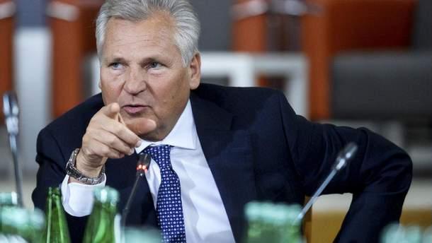 Александер Квасневський, польський президент двох каденцій (1995 – 2005)